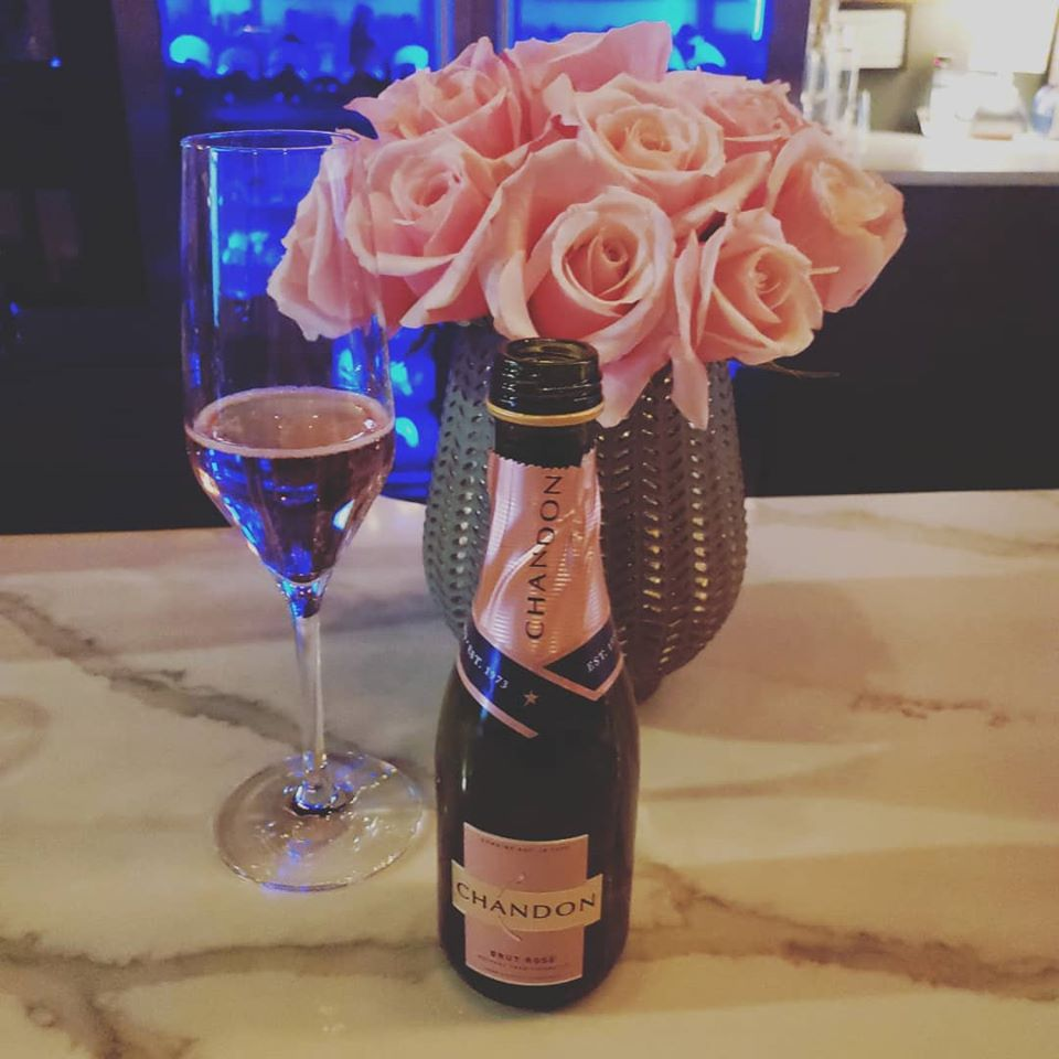 Chandon and Roses